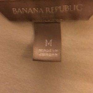 Banana Republic size medium white top